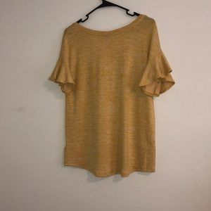 a new day Tops - A new day yellow top